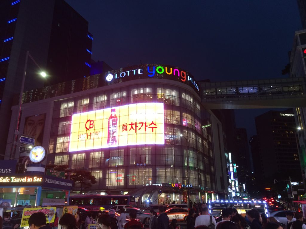 south-korea-seoul-city-shopping-stores-souvenirs-shops-stores-myeongdong-street-food-truck